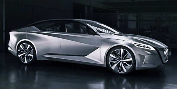 2022 Nissan Maxima, Next-Gen Full-Size Sport Sedan