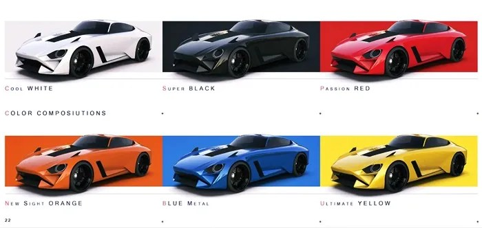 2022 Nissan 280Z Colors