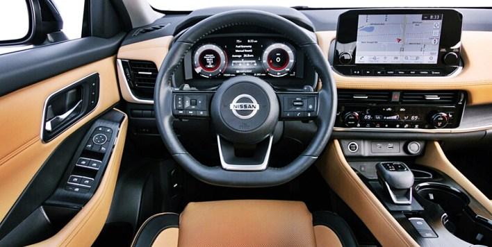 2022 Nissan Rogue AWD Interior