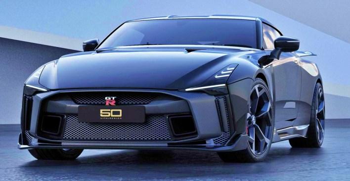 Nissan GTR 50 by Italdesign