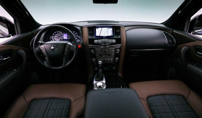 2023 Nissan Armada Platinum Interior