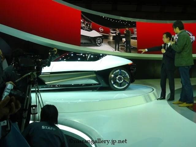 第43回東京モーターショー 小山薫堂×中村史郎トークライブ 日産ブレイドグライダー