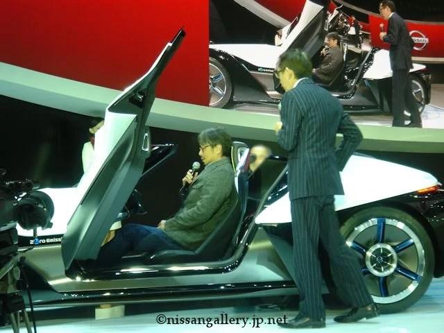 第43回東京モーターショー 小山薫堂×中村史郎トークライブ ブレイドグライダー