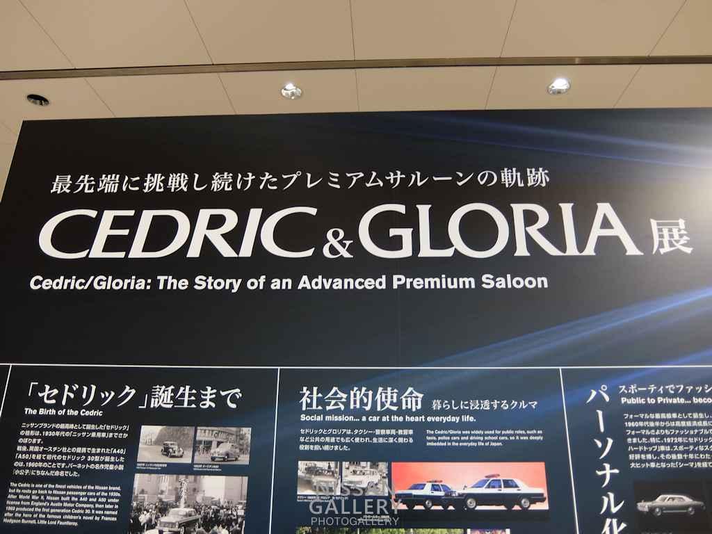 セドリック&グロリア展