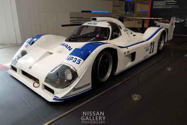 日産 グループCカーのNP35を展示 | 日産ギャラリーフォトギャラリー