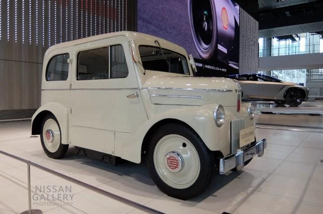 たま 電気自動車(1947年・E4S-47-Ⅰ型)