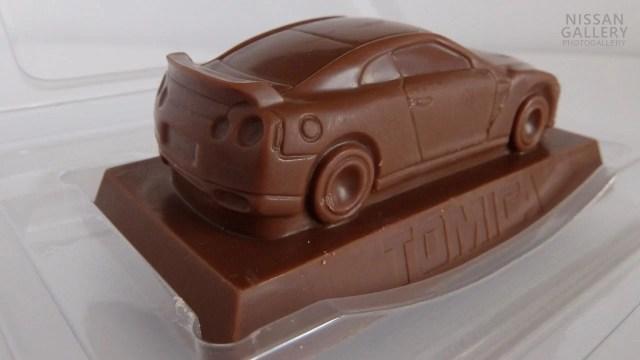 トミカ立体チョコ GT-R
