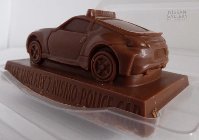 トミカ緊急車両チョコ 日産フェアレディZ パトカー