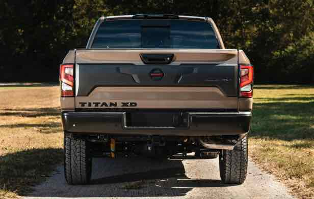 Nissan titan warrior price ready to tow up to 9,370 pounds