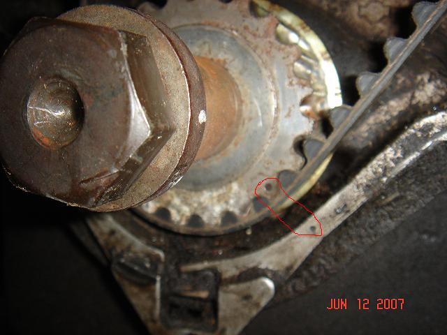 Nissan Exterra Timing Belt 04
