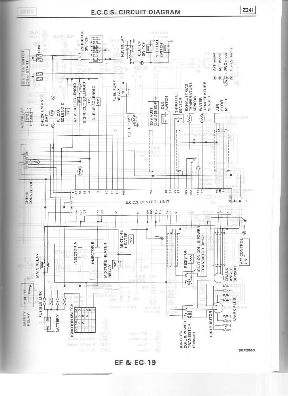 medium resolution of 1988 eccs wiring