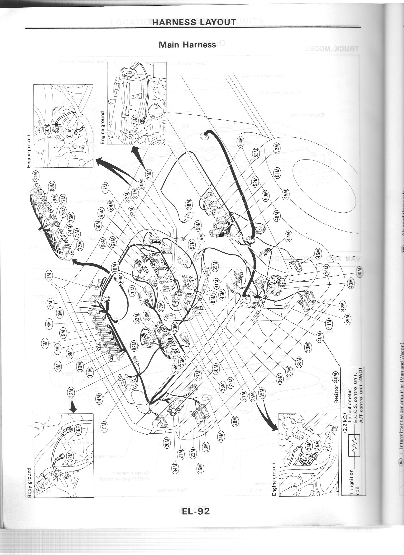 1986 Nissan D21 Engine Diagram. Nissan. Auto Wiring Diagram