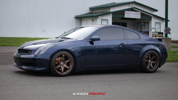 G35 Coupe Rays Volk Racing TE37