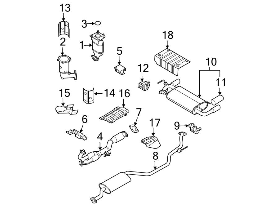 Nissan Murano Catalytic Converter. Catalytic Converter
