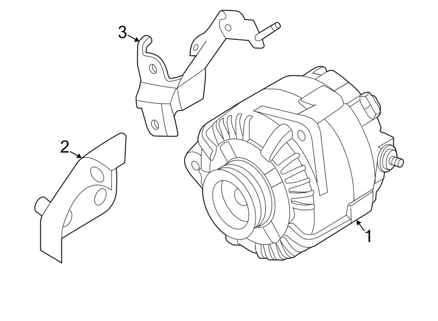 2015 Nissan Altima Alternator. Liter, Battery, SEDAN