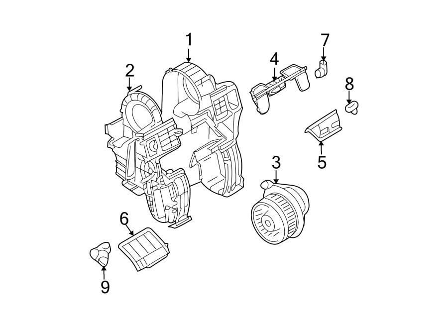 2008 Nissan Versa Hvac blower motor. Motor and fan. Motor
