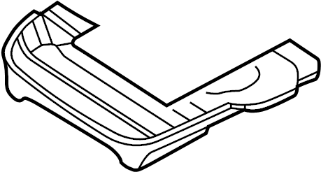Nissan Pathfinder Seat Frame (Right, Front, Rear). WITHOUT
