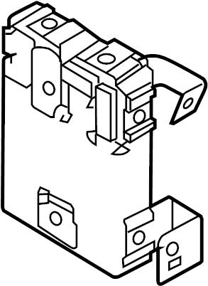 Nissan Murano Body Control Module. HID, Headlights, Exc