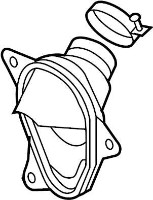Nissan Murano Steering Coupling Boot. Suspension, COLUMN