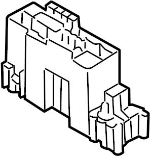 Nissan Xterra Fuse. Box. Housing. Relay. UNDER, HOOD