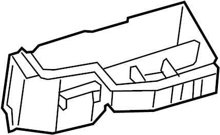 Nissan Pathfinder Housing Fusible Link Holder. TECHOLOGY