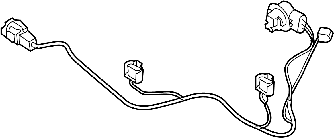 2005 nissan titan headlight wiring harness