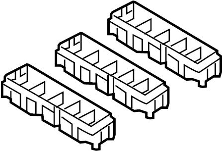 Nissan Pathfinder Housing Relay Box. FITTING, BODY, ENGINE