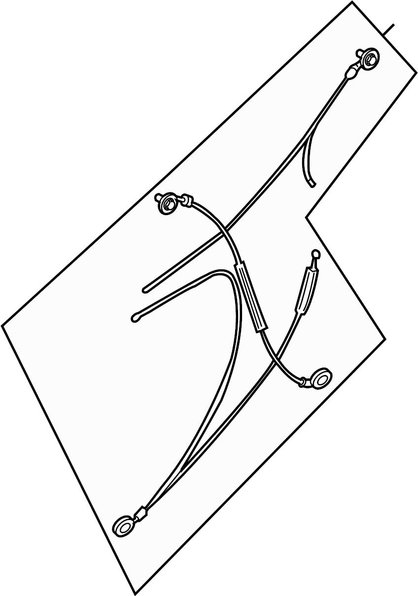 2015 Nissan Frontier Manual regulator. Power regulator