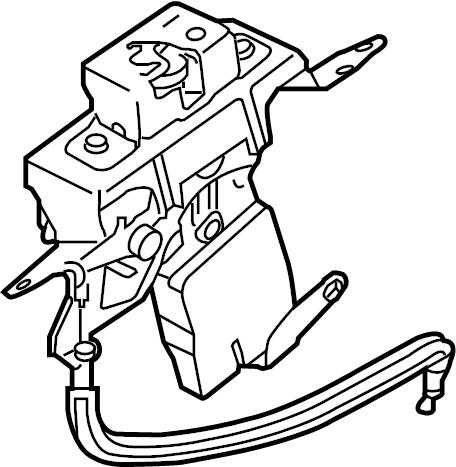 Nissan Pathfinder Lock. Latch. Glass, Gate, Lift