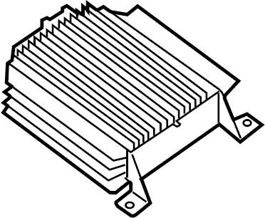 Nissan Xterra Radio Amplifier. FOSGATE, ROCKFORD, AUDIO