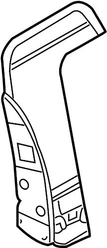 Nissan 350Z Seat Back Frame (Front). BAG, AIR, SIDE