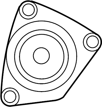 Nissan Versa Accessory Drive Belt Tensioner Assembly