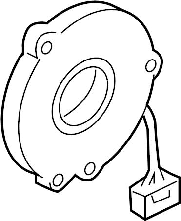 Nissan Sentra Steering Wheel Position Sensor. Model, Angle