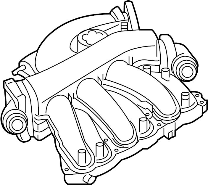 Nissan Murano Engine Intake Manifold. COVER, EXHAUST