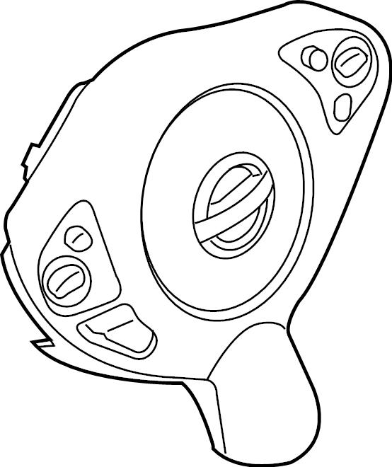 Nissan Altima Steering Wheel Air Bag. Inflator, Module