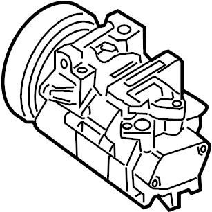 2010 Nissan Maxima Air conditioning (a/c) compressor
