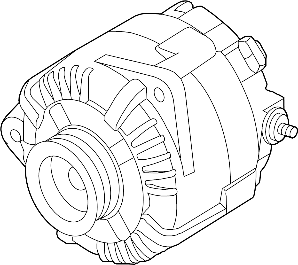 Nissan Altima Alternator Liter Battery Sedan