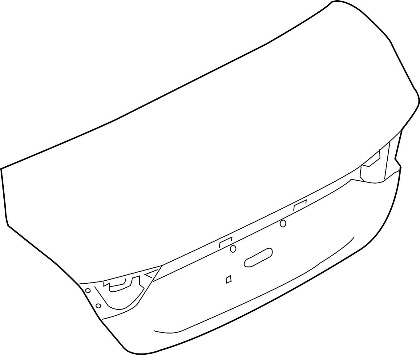 Nissan Maxima Deck Lid Spoiler