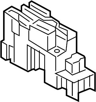 Nissan Xterra Box. Box assy. Control box. Fuse & relay box