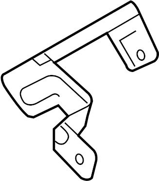 Nissan Versa Fuse Box Bracket. SED, ENGINE, HARNESS