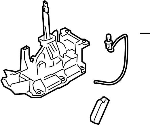 Nissan Versa Automatic Transmission Shift Lever. DEVICE