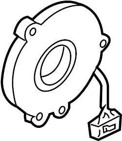 Nissan Frontier Air Bag Clockspring. CLOCKSPRING. POSITION