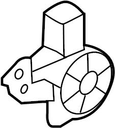 2015 Nissan Quest Motor. Motor assy-regu. Regulator