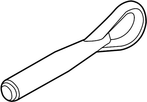 2012 Nissan Juke Hook. Tow. BRACKET. Eye. ING,. Rear. Tie
