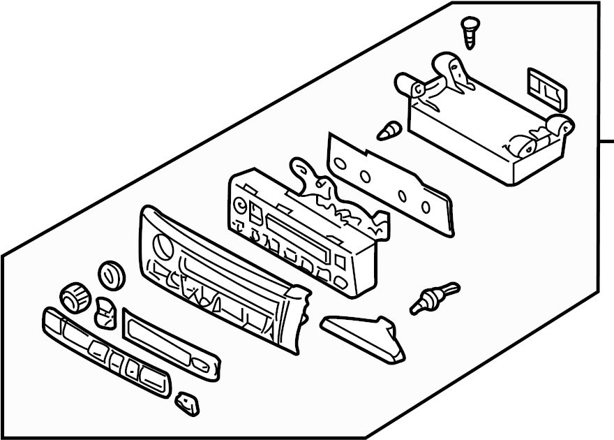 Nissan Maxima Hvac Temperature Control Panel. AIR, MANUAL