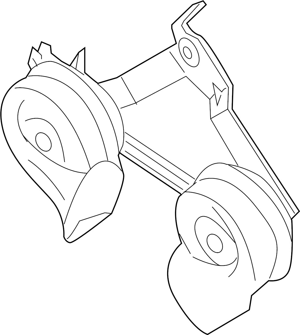 Nissan Armada Horn Body Inst Engine