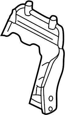 Nissan Pathfinder Seat Back Frame (Front). BAG, AIR