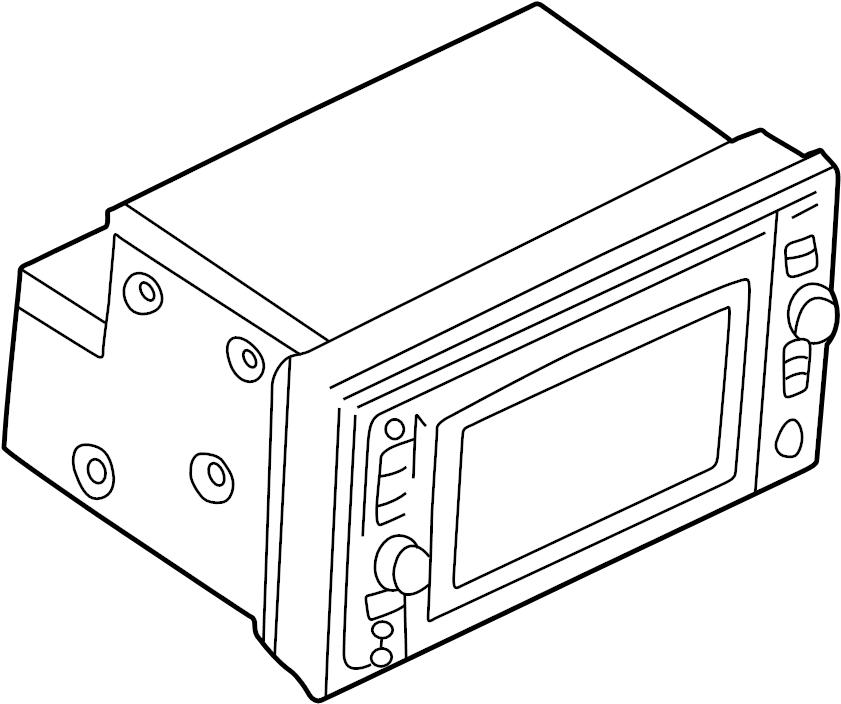 Nissan Pathfinder Gps Navigation System. AUDIO, ANTENNA