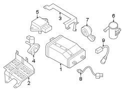 Nissan Sentra Sensor. OXYGEN. ASSYAIR. Air/fuel. FRONT