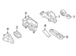 Nissan Sentra Torque. Strut. Rod. Assembly. Buffer. Front